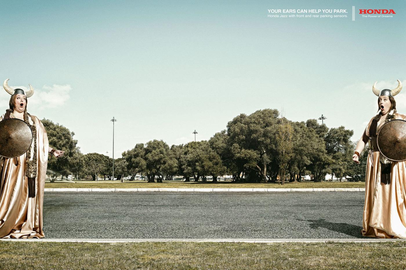 Honda Print Ad -  Opera