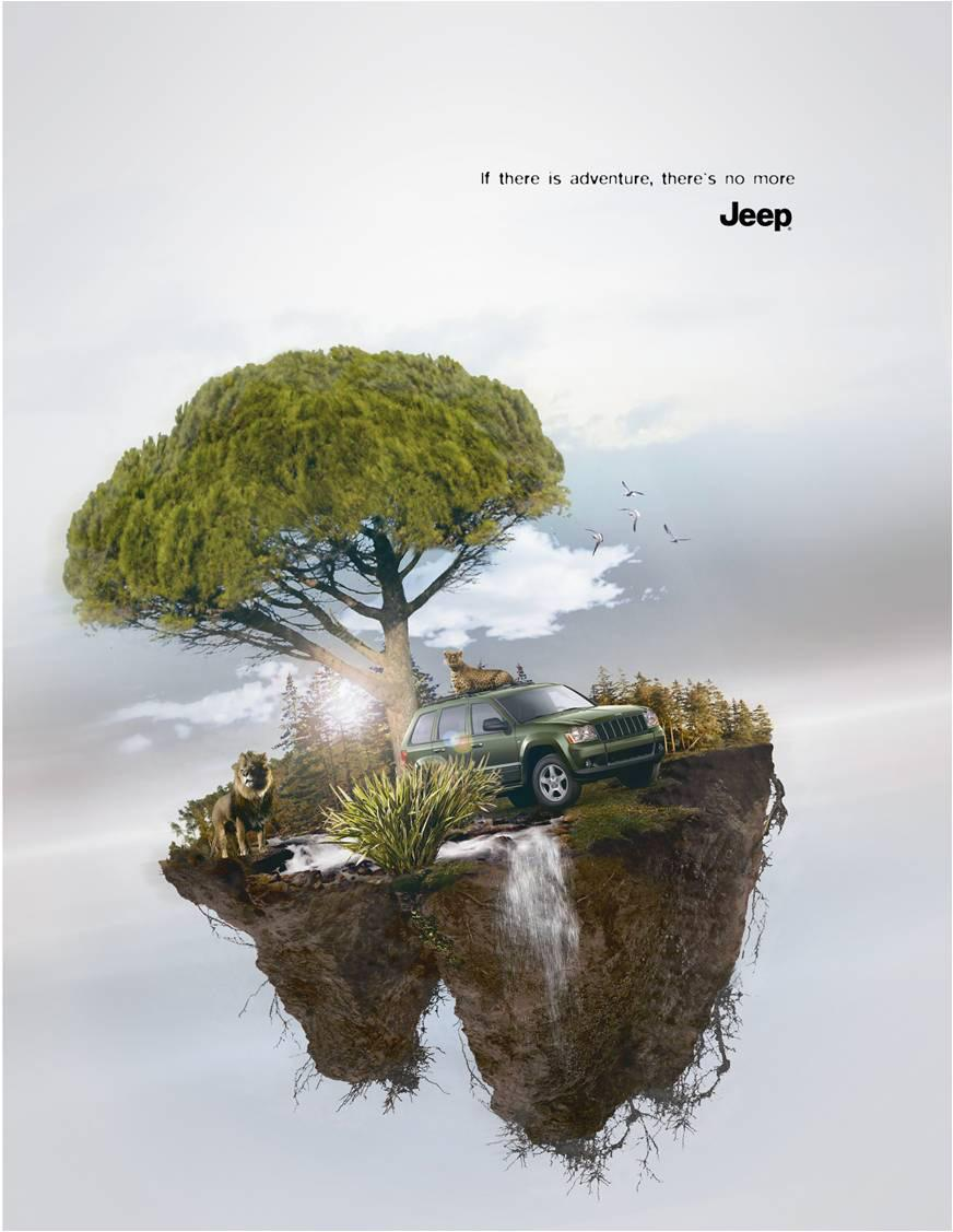 Jeep Print Ad -  Adventure