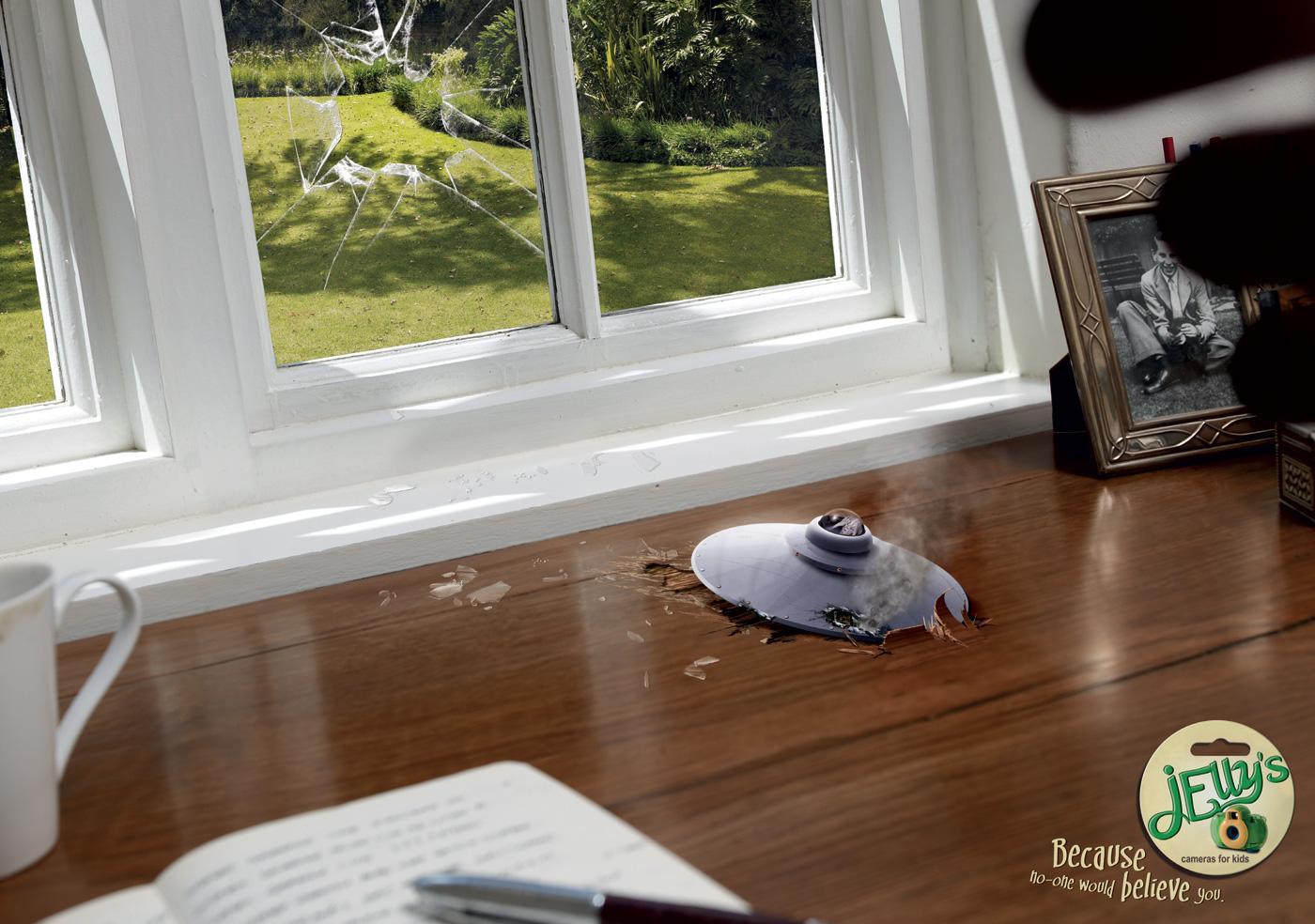 Jelly's Print Ad -  Alien