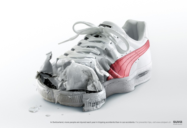 Suva Print Ad -  Sports shoe