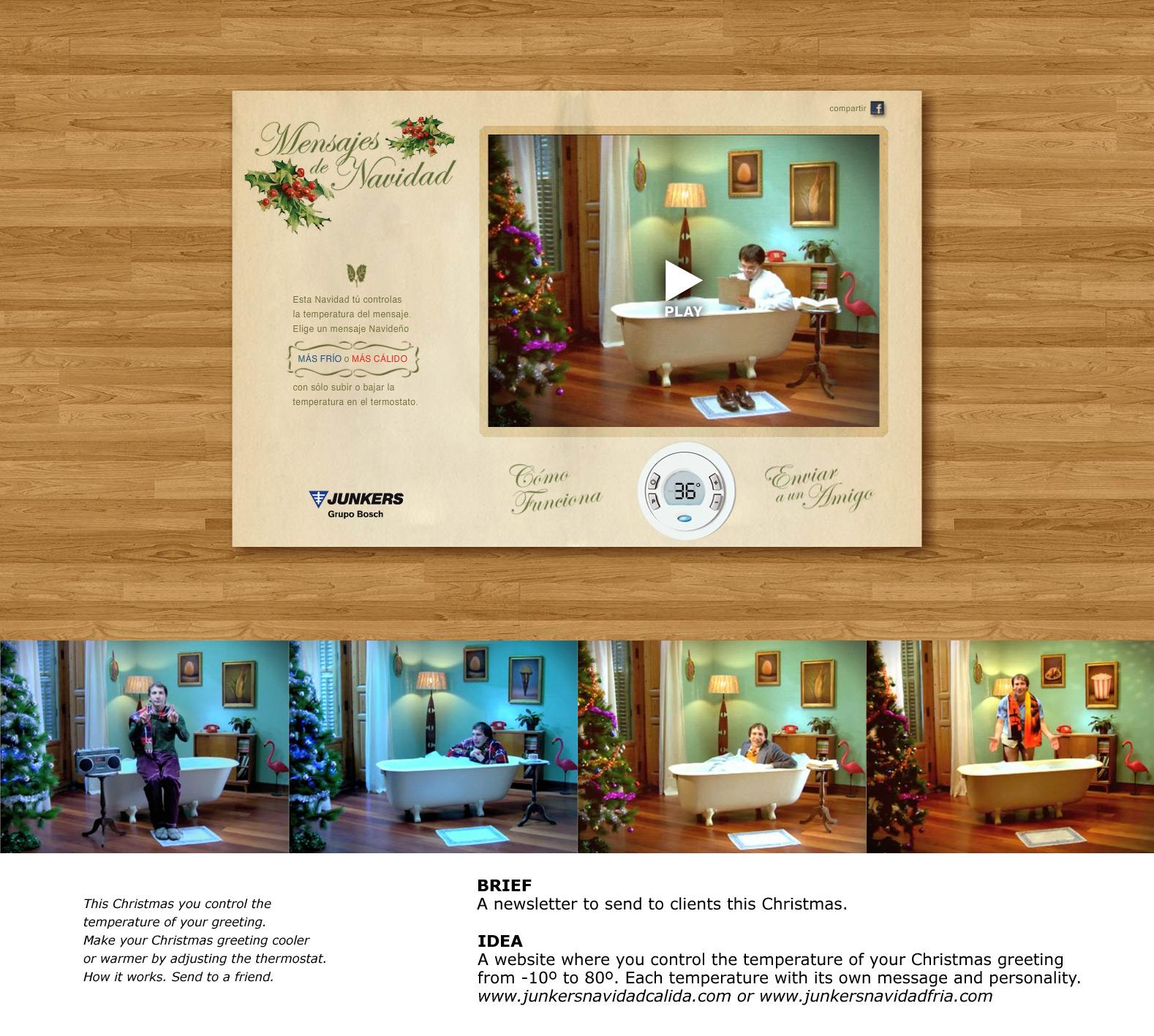 Junkers Digital Ad -  Christmas card