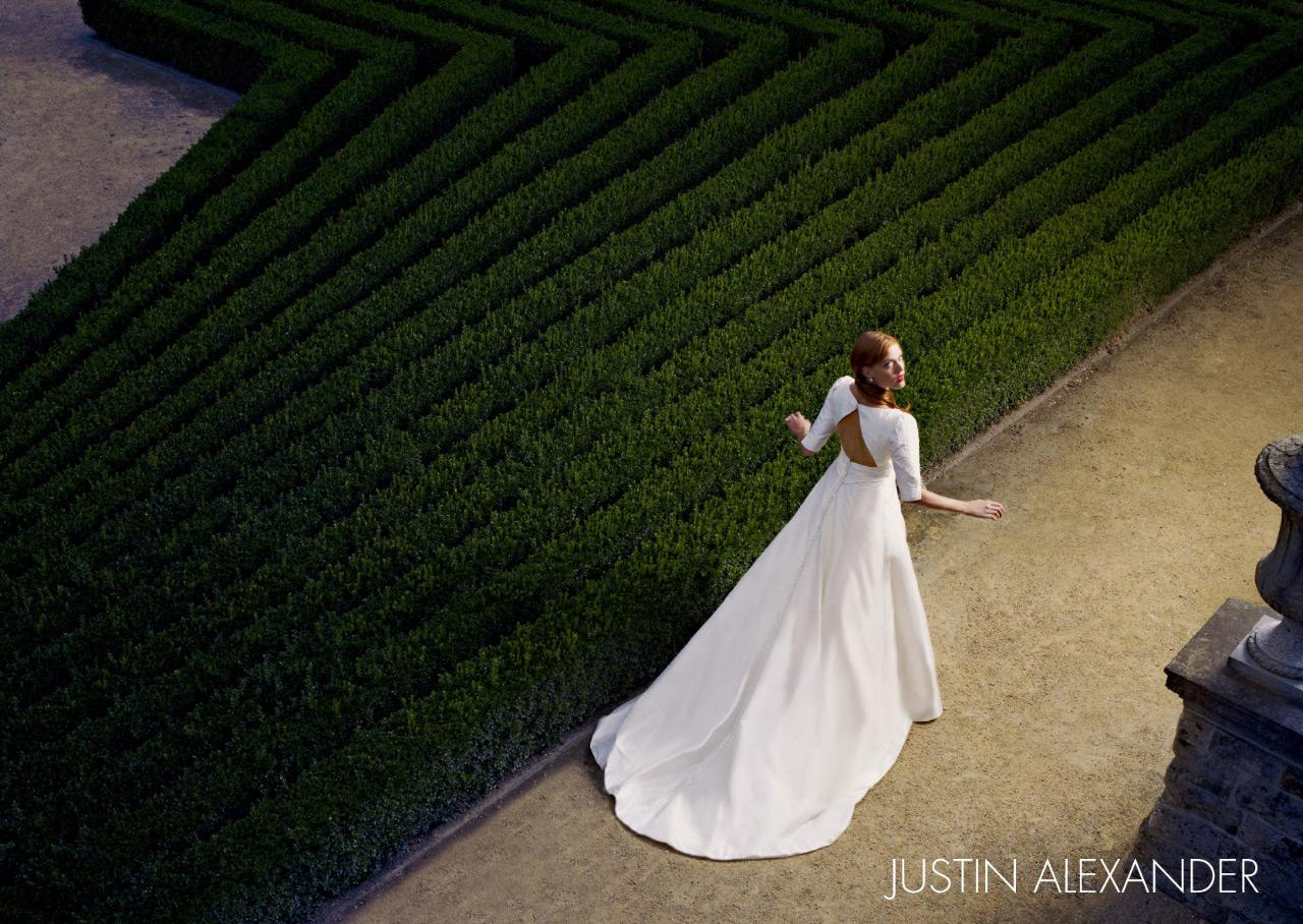 Justin Alexander Print Ad -  Garden, 4