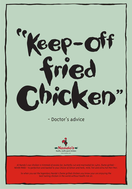 Nando's Print Ad -  KFC
