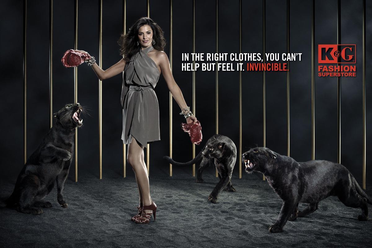 K&G Fashion Print Ad -  Panthers