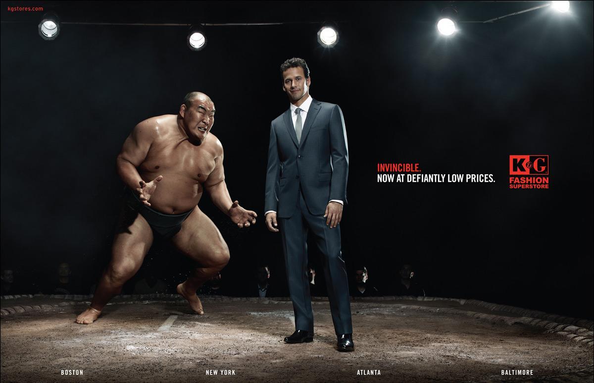 K&G Fashion Print Ad -  Sumo