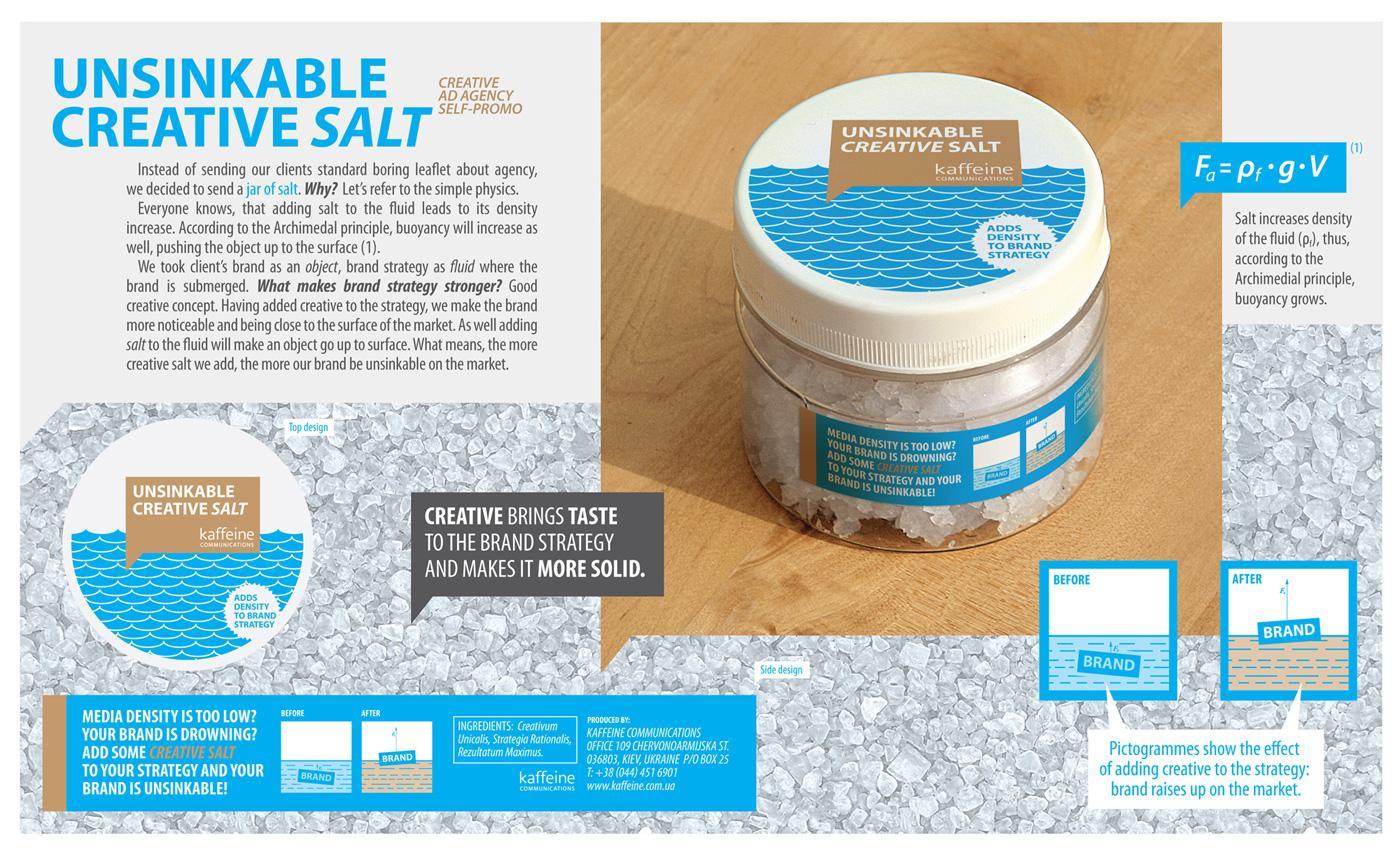 Kaffeine Direct Ad -  Unsinkable Creative Salt