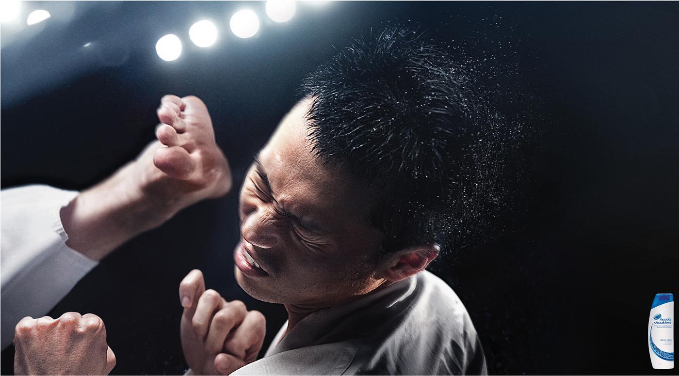Head & Shoulders Print Ad -  Karate