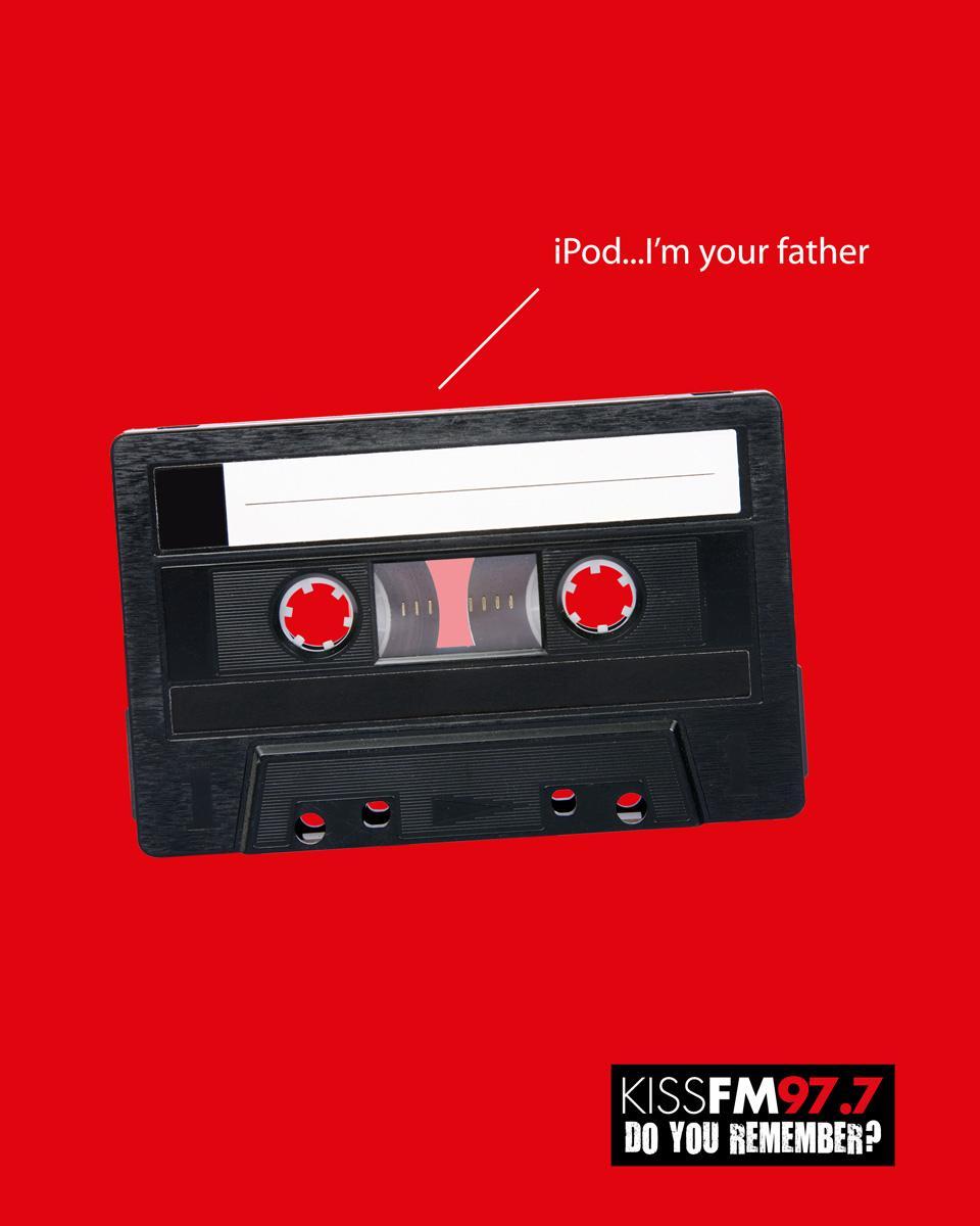 KISS FM Print Ad -  Father