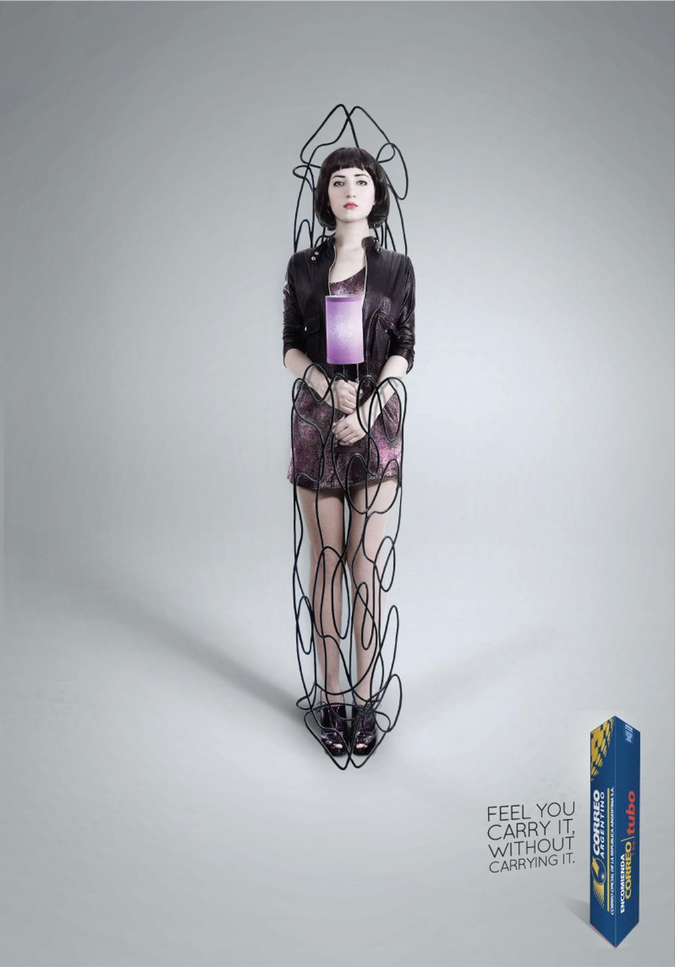 Correo Argentino Print Ad -  Lamp