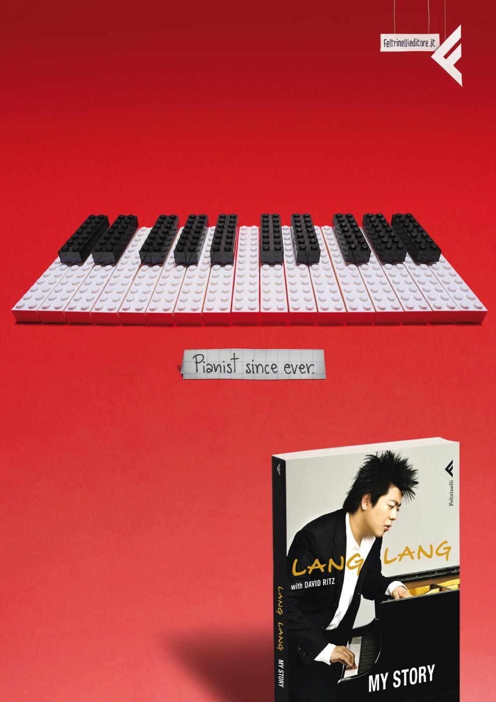 Feltrinelli Print Ad -  Piano