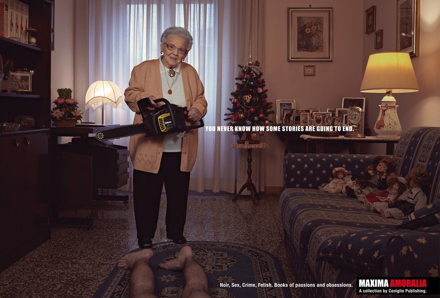 Maxima Amoralia Print Ad -  Liliana
