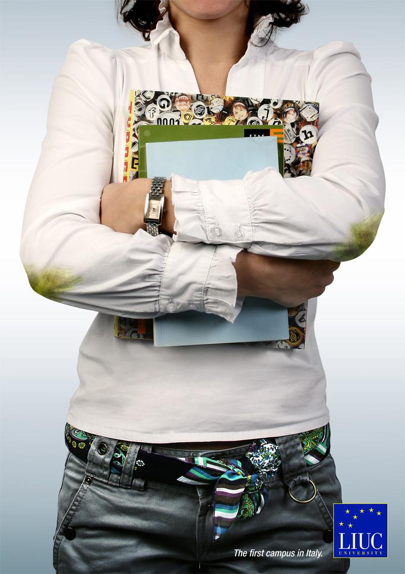 LIUC Print Ad -  Girl