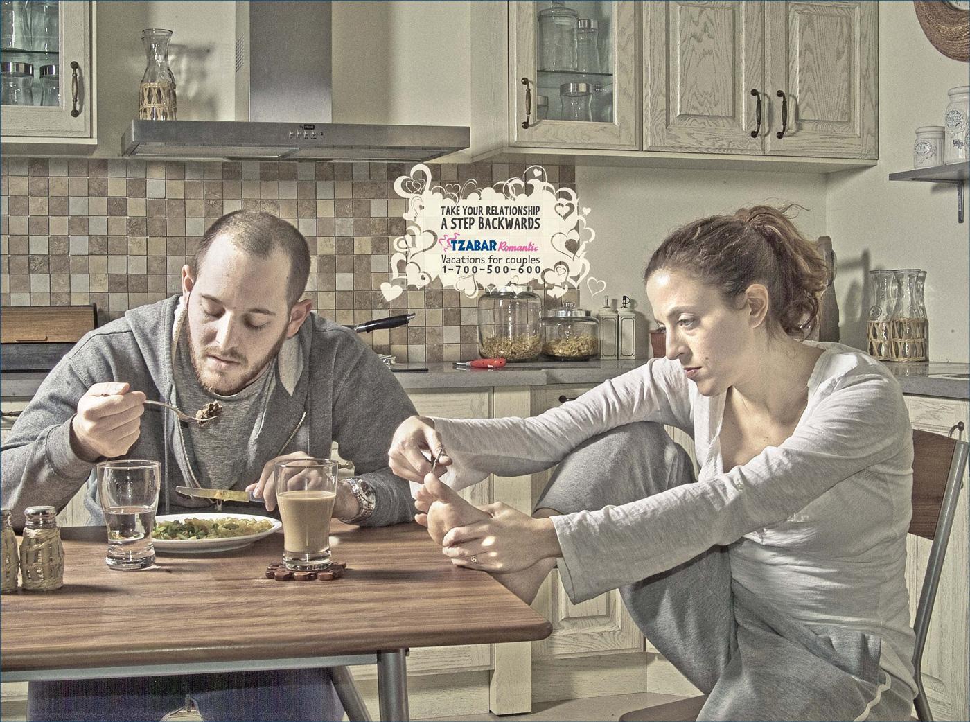 Tzabar Print Ad -  Kitchen