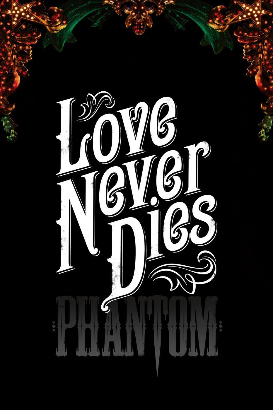 The Phantom Print Ad -  Typography