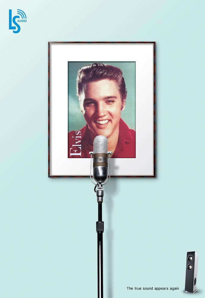 Lisheng Print Ad -  Elvis