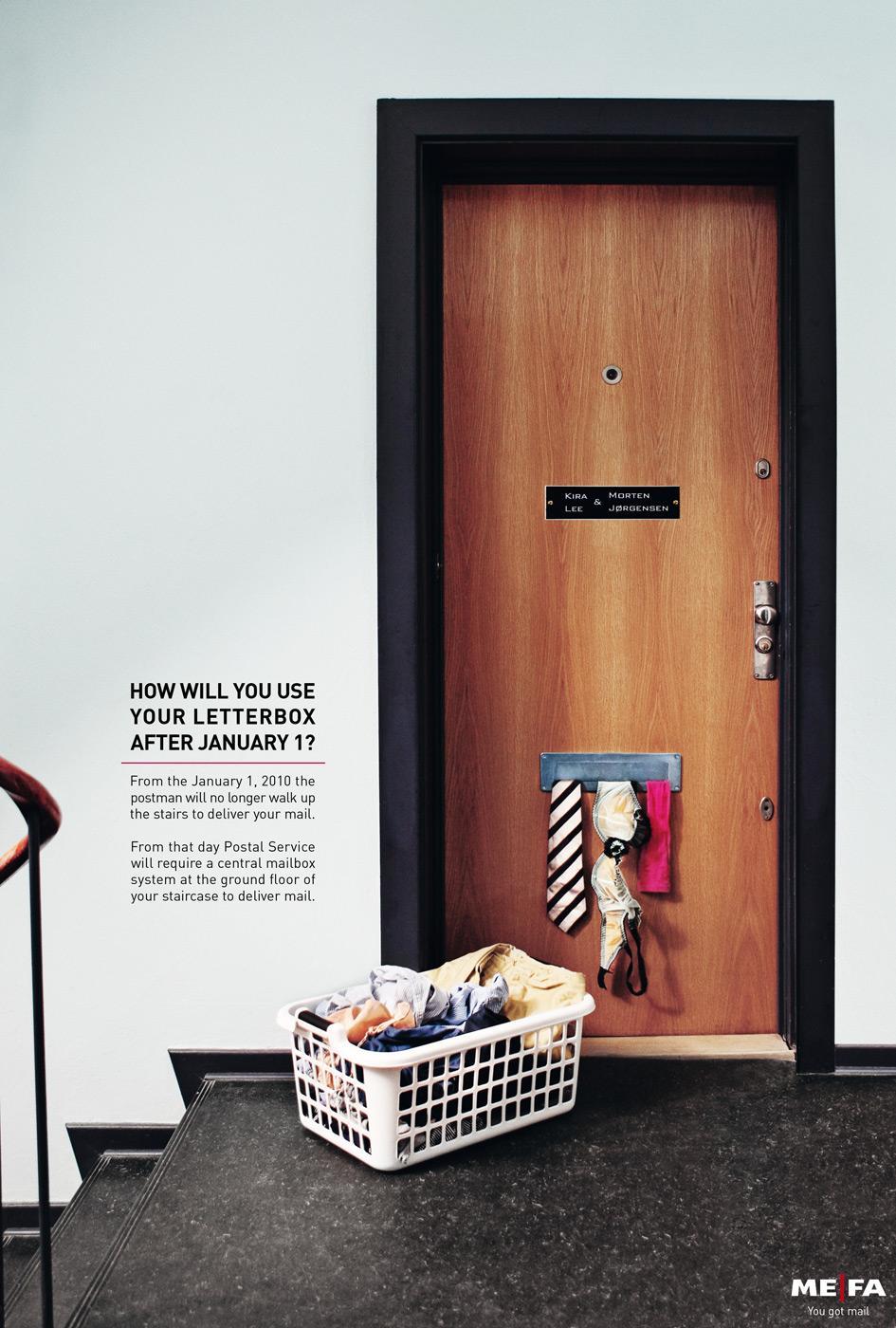 MEFA Print Ad -  Laundry