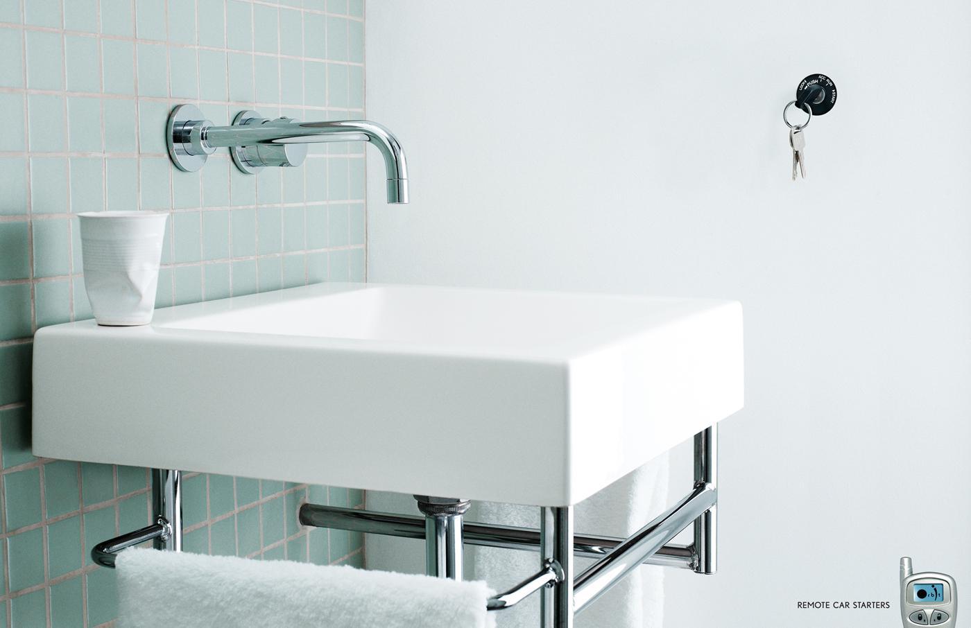 Orbit Print Ad -  Bathroom