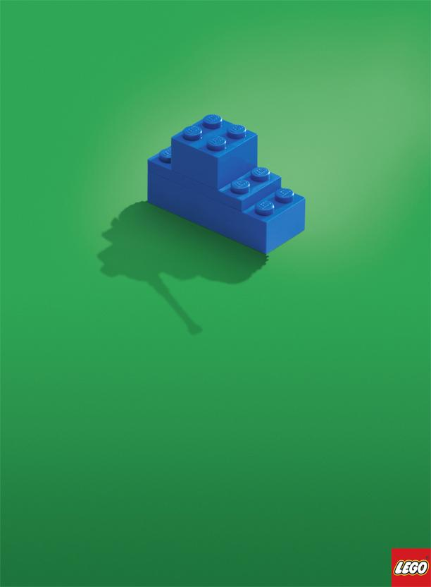 Lego Print Ad -  Tank