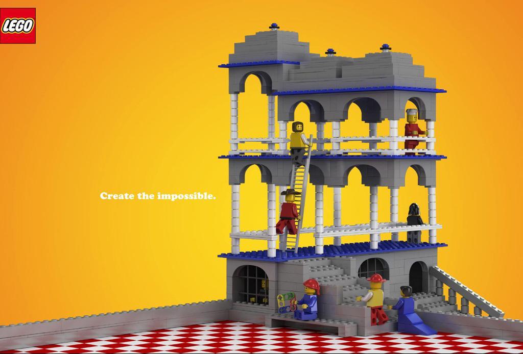 Lego Print Ad -  Belvedere
