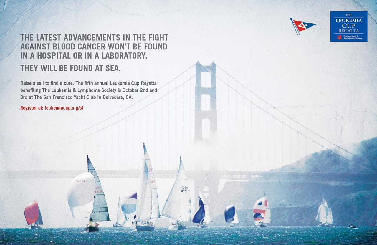 The Leukemia & Lymphoma Society Print Ad -  1