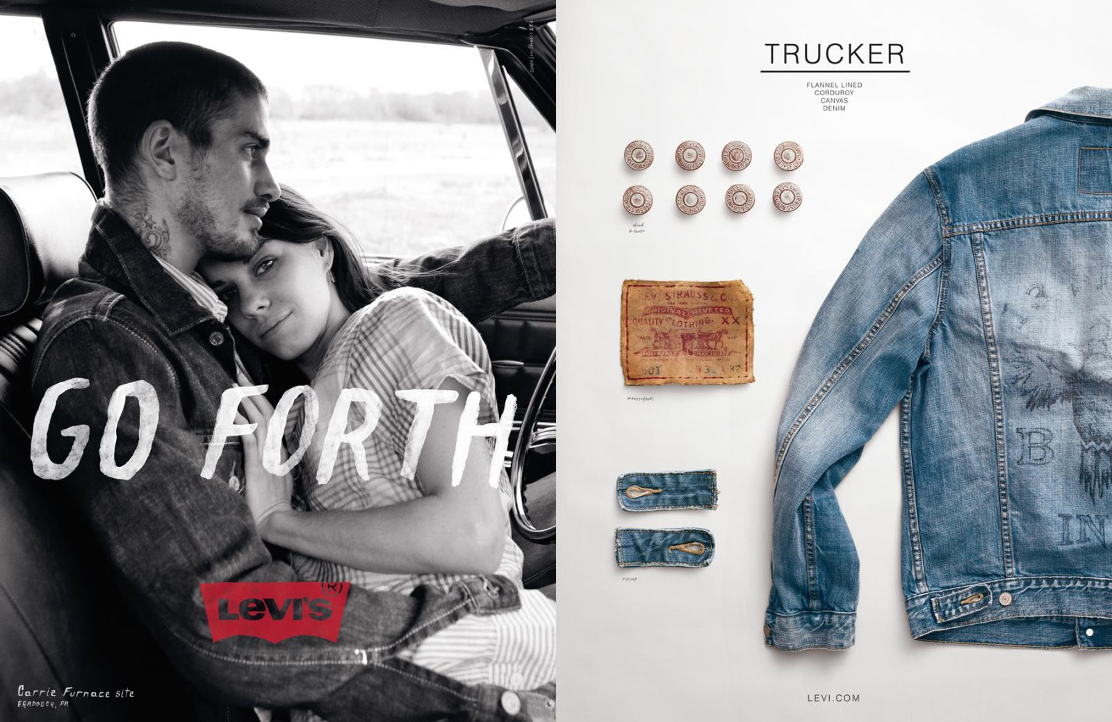 levi jeans management and marketing