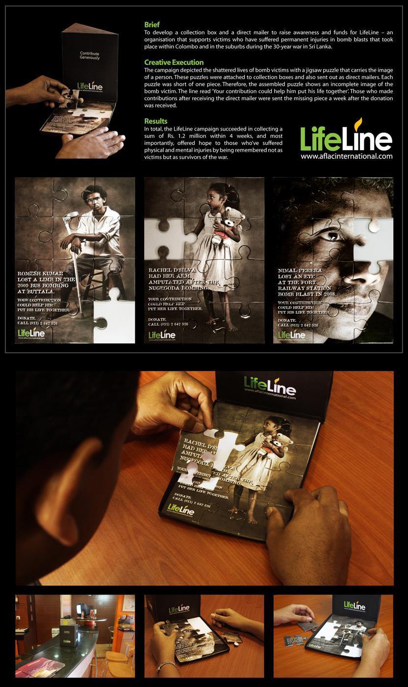 Lifeline Direct Ad -  Puzzle