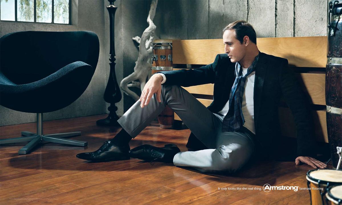 Armstrong Print Ad -  Marlon Brando