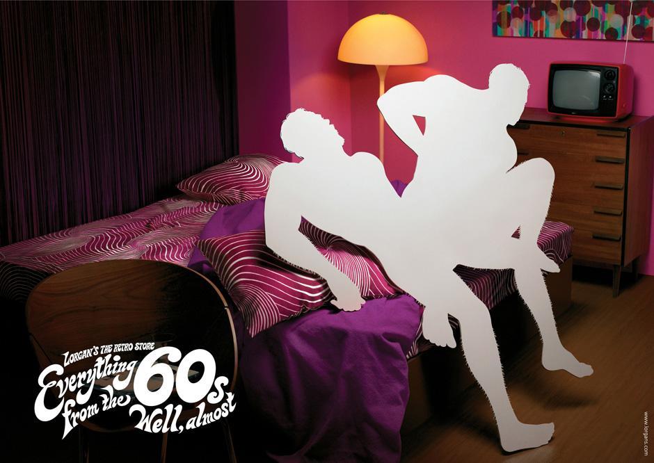 Lorgan's Print Ad -  Bedroom