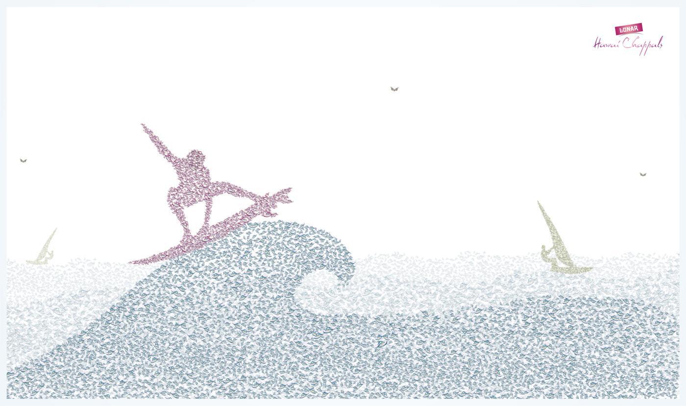 Lunar Print Ad -  Surf