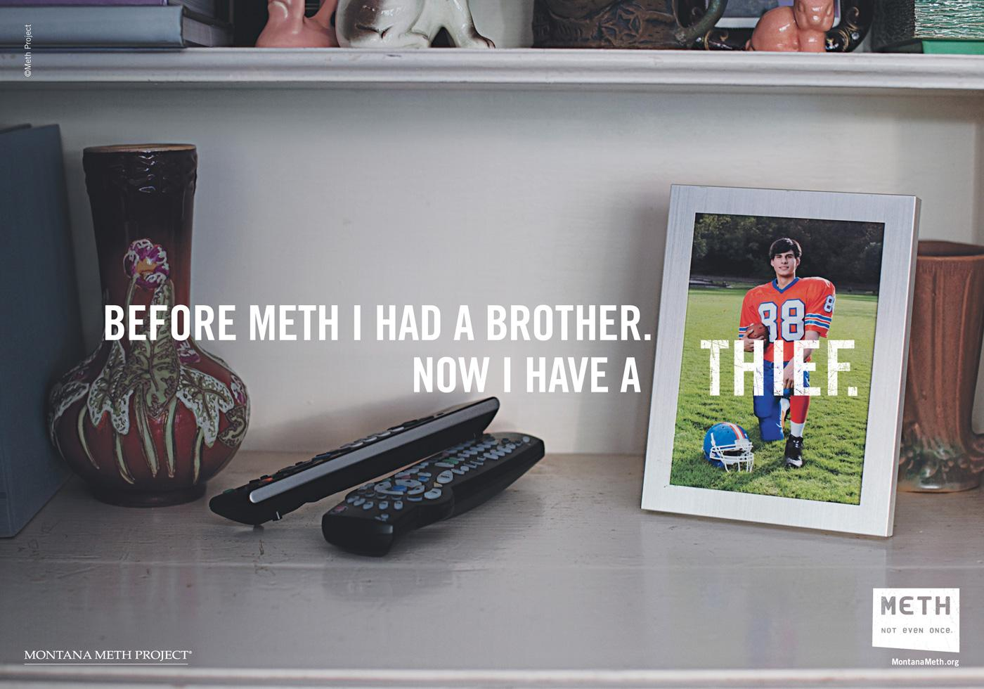 Montana Meth Project Print Ad -  Thief