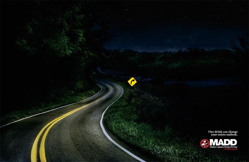 MADD Print Ad -  Road, 2