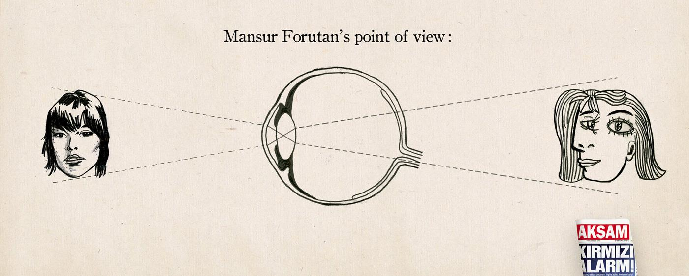 Point of view, Masur Forutan