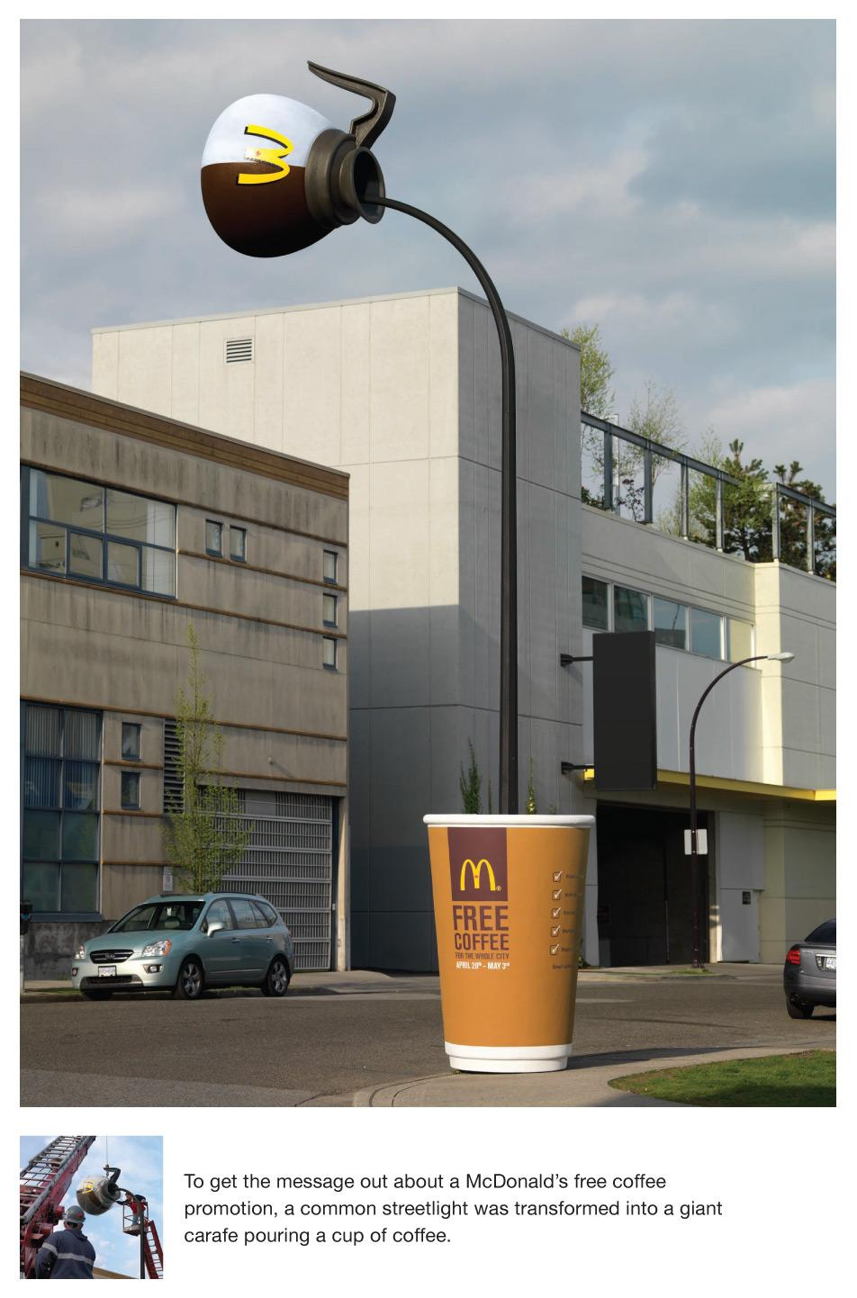 McDonald's Ambient Ad -  Pole