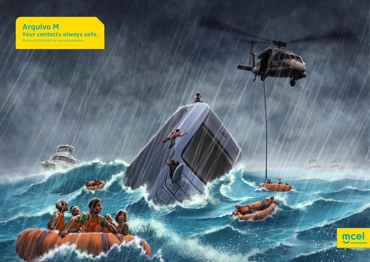MCEL Print Ad -  Shipwreck