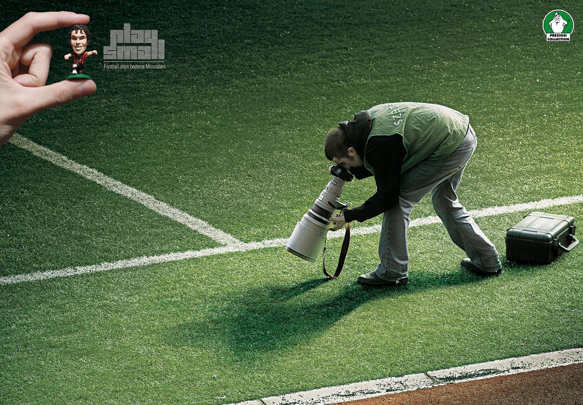Microstars Print Ad -  Play Small, Photographer
