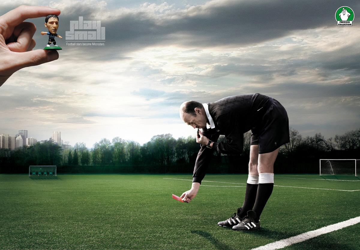 Microstars Print Ad -  Play Small, Referee