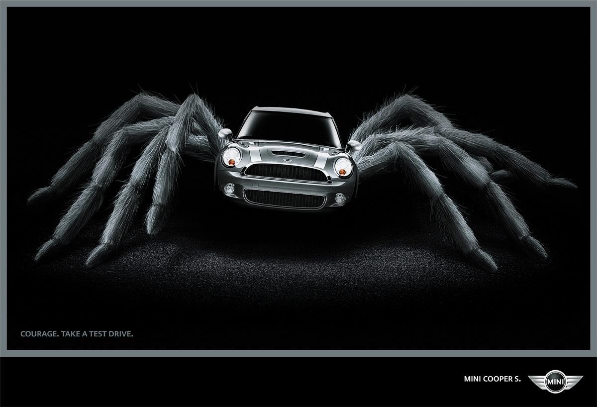 Mini Print Ad -  Courage