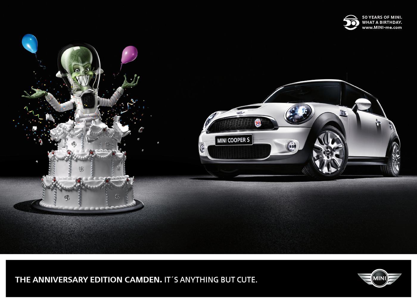 Mini Print Ad -  Alien