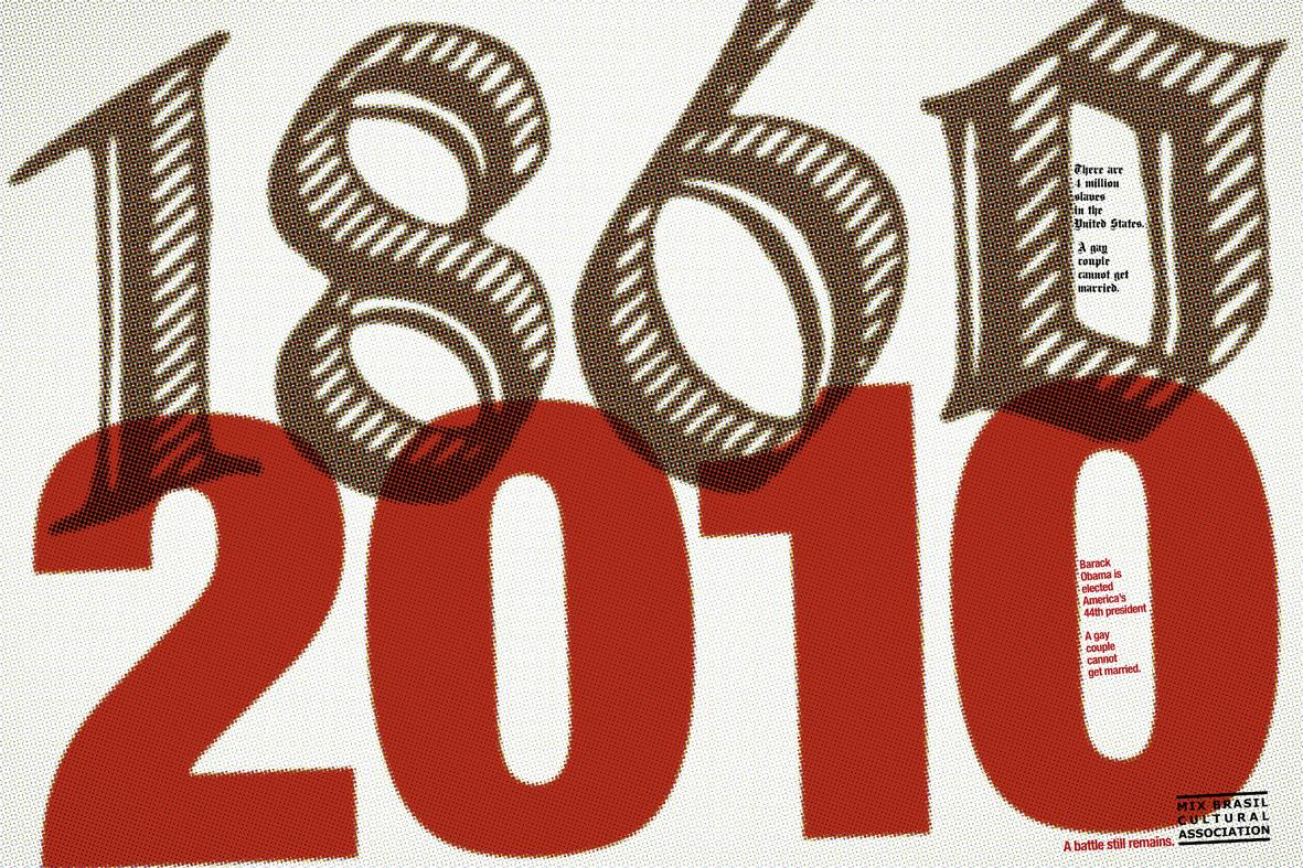 Mix Brazil Cultural Association Print Ad -  1860-2010