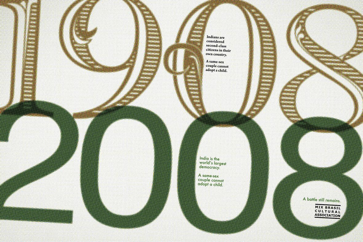 Mix Brazil Cultural Association Print Ad -  1908-2008