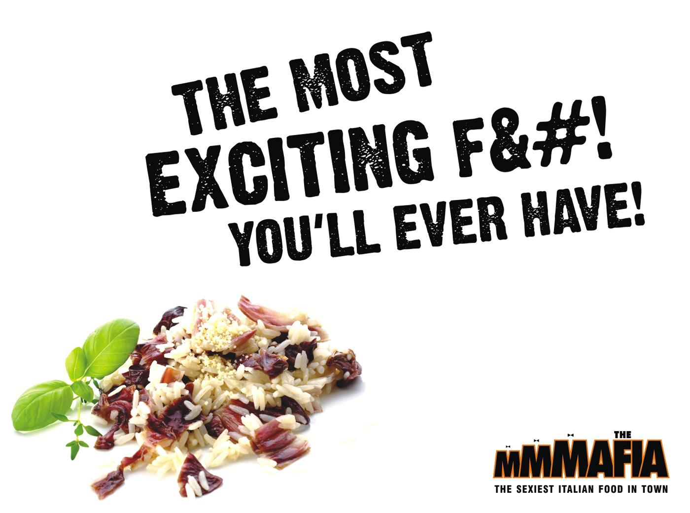 The MMMafia Print Ad -  Exciting