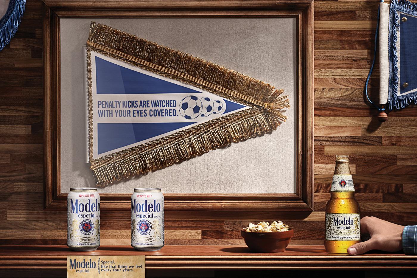 Modelo Especial Print Ad -  Penalty kicks