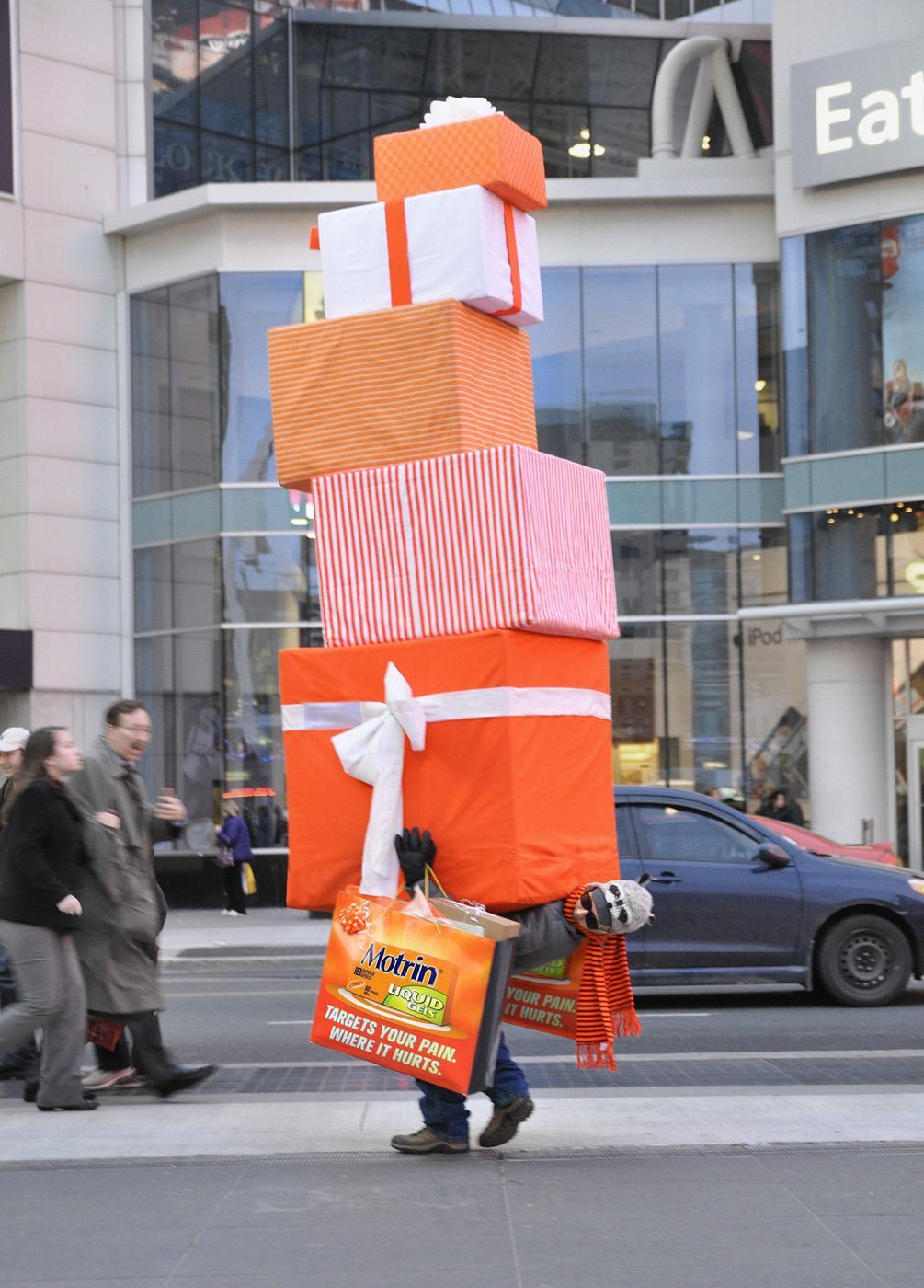 Motrin Ambient Ad -  Brokeback Boxes