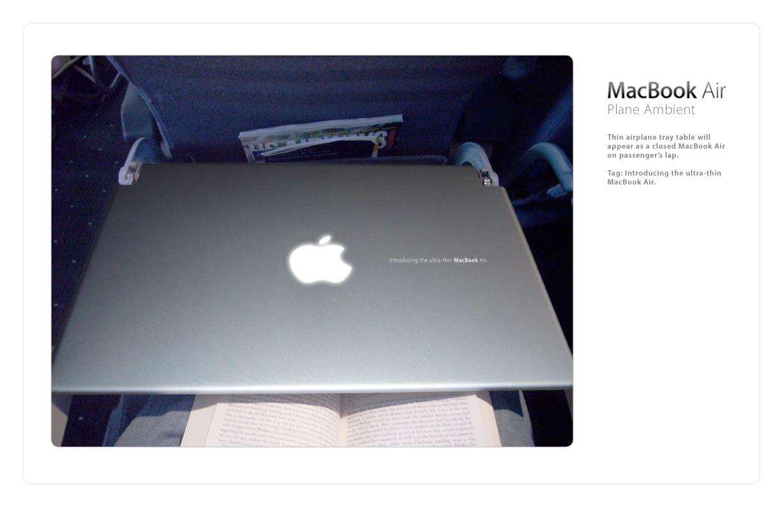 Apple Ambient Ad -  Plane
