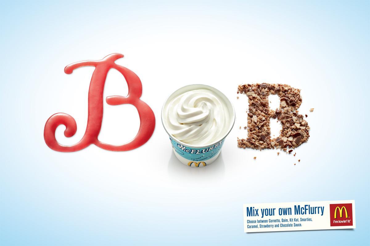 McDonald's Print Ad -  Bob
