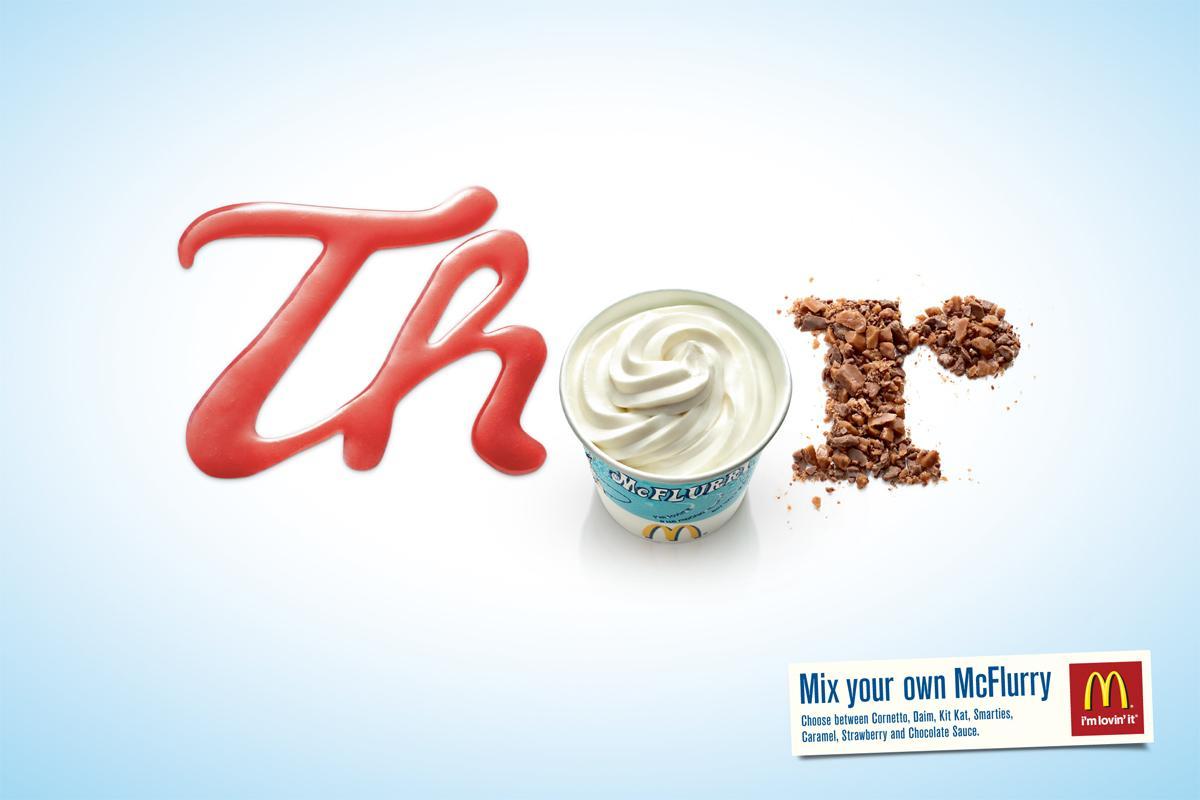 McDonald's Print Ad -  Thor