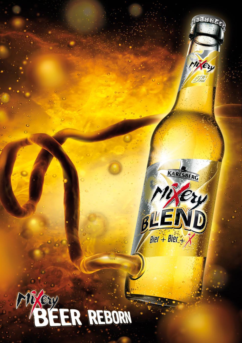 Karlsberg Print Ad -  Beer reborn