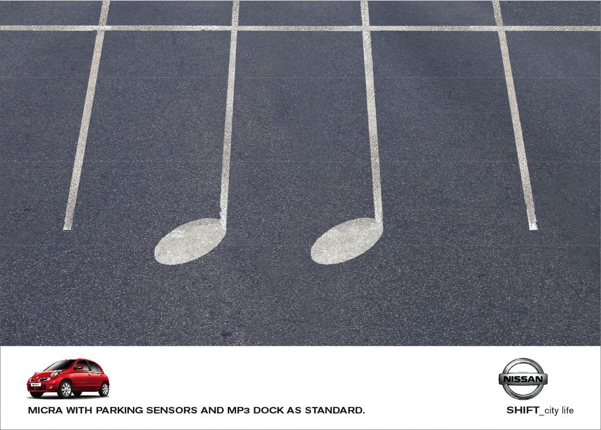 Nissan Print Ad -  Parking