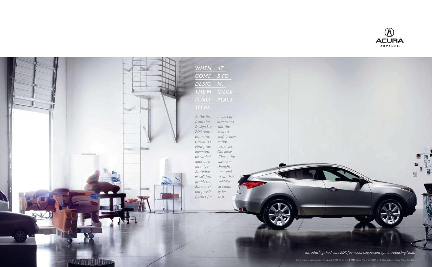 Honda Print Ad -  Middle