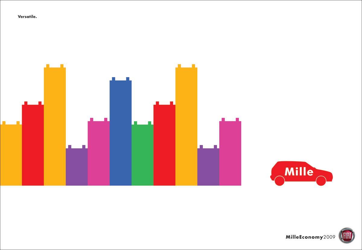 Fiat Print Ad -  Lego